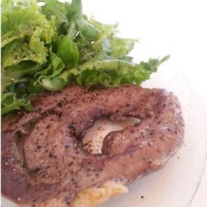 Easy Beef Heart Steak