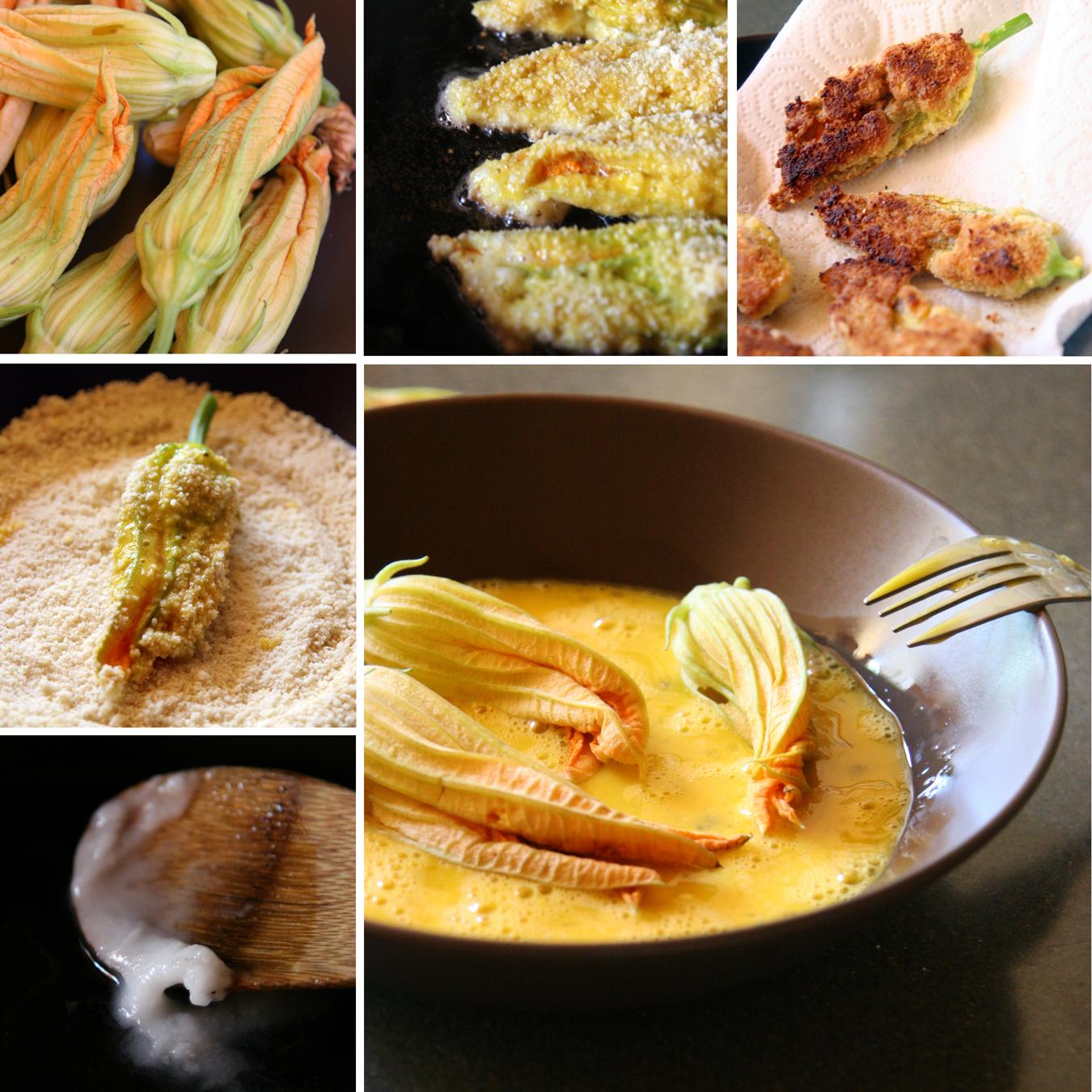 Zucchini Blossom Appetizer Paleo and Gluten Free