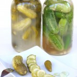 Israeli lacto fermented Pickles and jars