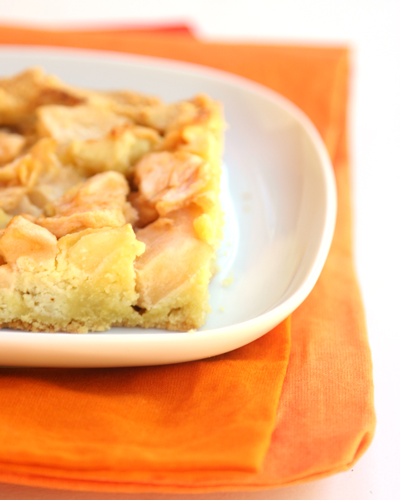 Sugar Free, Grain Free Apple Marzipan Tart