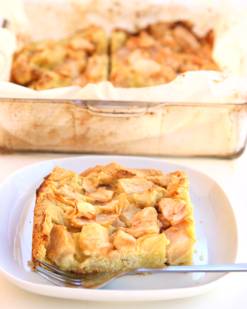 Sugarless Flourless Apple Marzipan Tart 04
