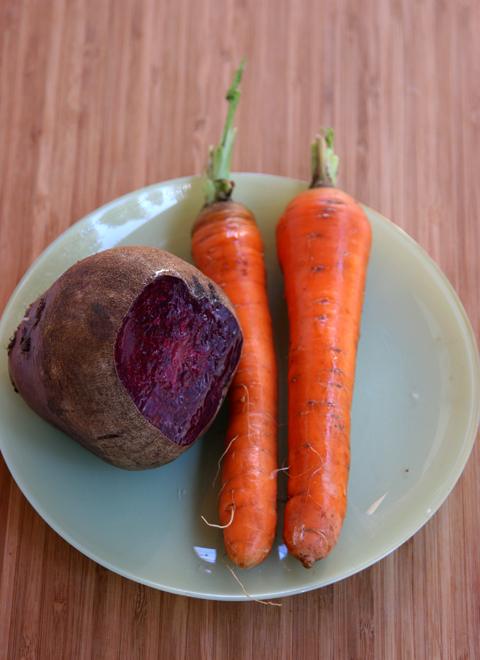 Beet and Carrot