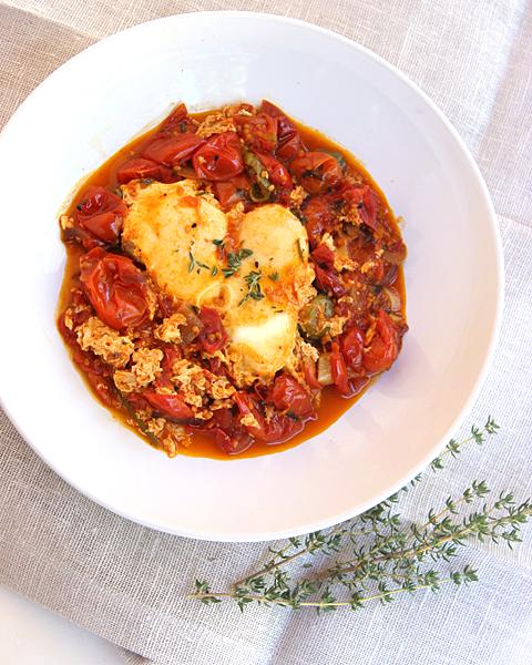 Roasted Tomato Shakshuka S