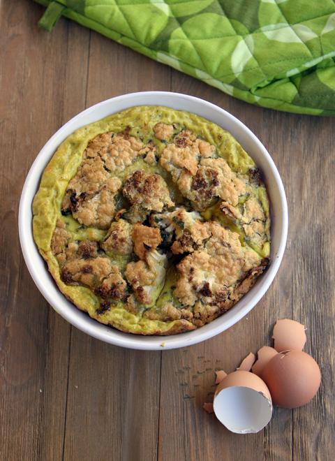 Cauliflower Ghee Souffle