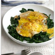 Kale and Eggs Benedict Recipe for Ketogenic Diet Week Meal Plan- Friday Day 6