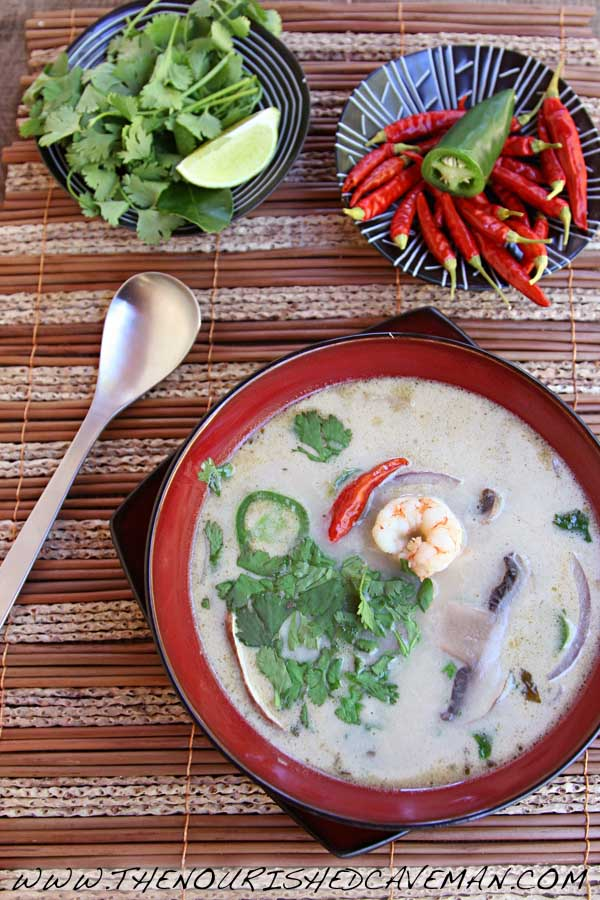 Thai Coconut Soup by The Nourished Caveman 02