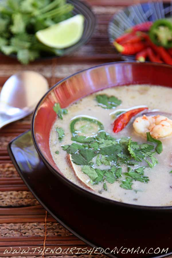 Thai Coconut Soup by The Nourished Caveman 03