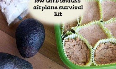 Low Carb Snacks airplane survival kit By the Nourished Caveman 01