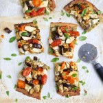 Thin Crust Paleo Low Carb Pizza Slices
