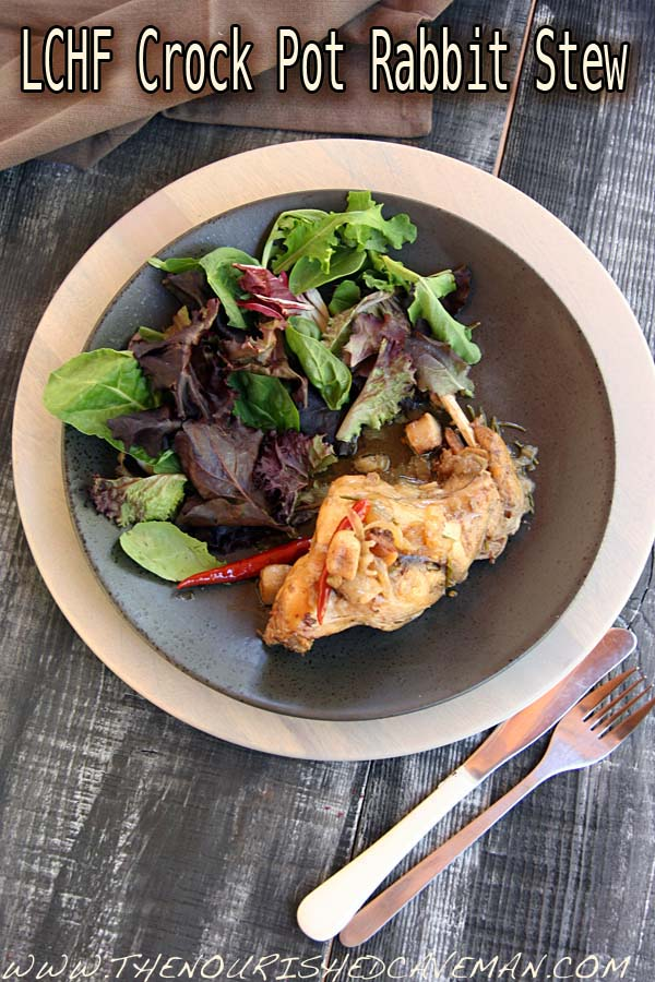 LCHF Slow Cooker Stewed Rabbit by The Nourished Caveman 04