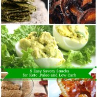 Easy Low-Carb and Keto Savory Snacks