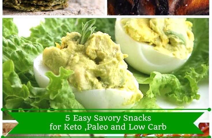 5 easy keto snacks