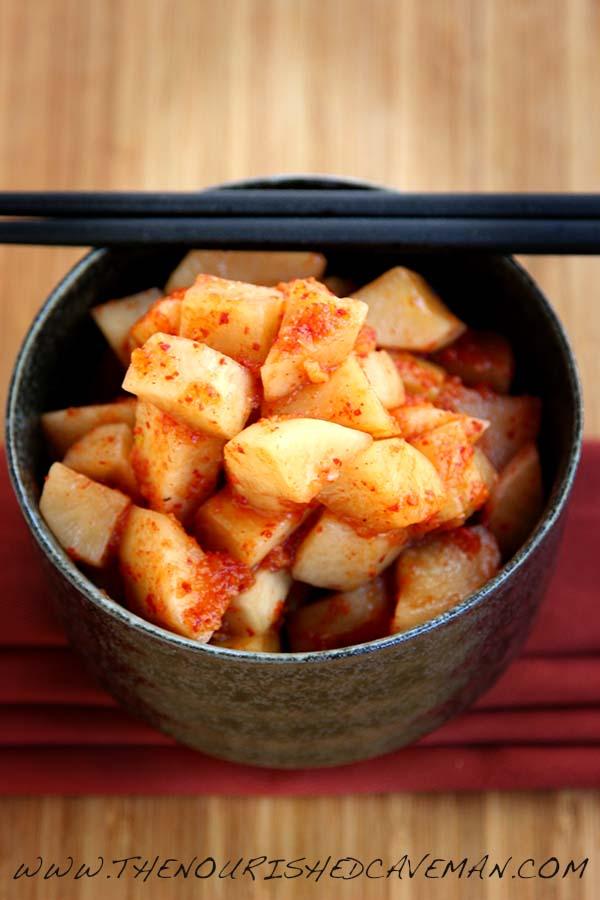 Daikon Kimchi By The Nourished Caveman 2