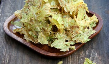 Almond Butter Cabbage Chips By The Nourished Caveman 3