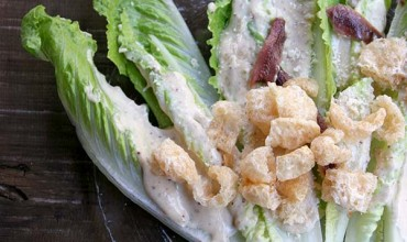 Low Carb Cesar Salad by The Nourished Caveman