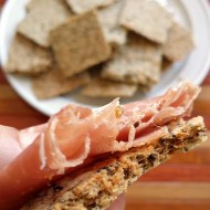 Easy Grain Free Crackers for Keto and Low carb
