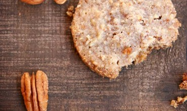 Pecan Almond Shorbread Cookies By The Nourished Caveman