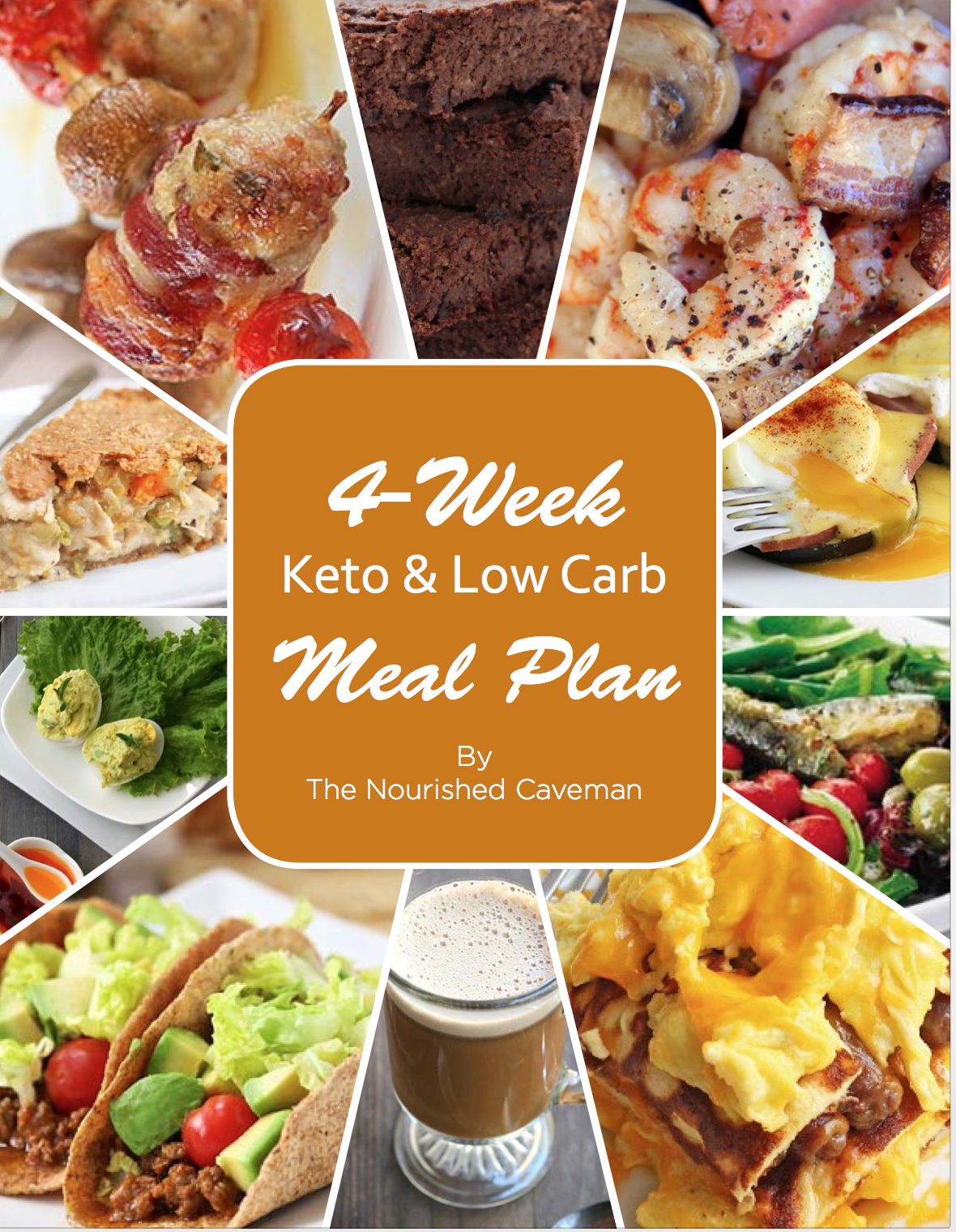 4 week keto low carb meal plan the nourished caveman. Black Bedroom Furniture Sets. Home Design Ideas