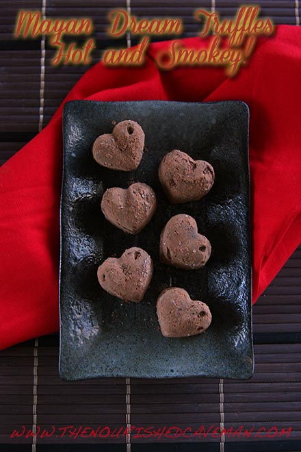 Mayan Drem Chcocolate Truffles By The Nourished Caveman