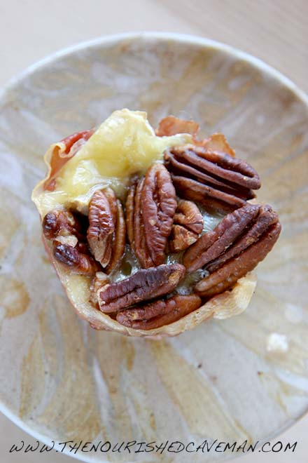 Baked Brie and Pecan Prosciutto Savory Fat Bombs By The Nourished Caveman 2