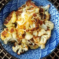 Garlic and Herb Easy Roasted Cauliflower Keto and Low Carb