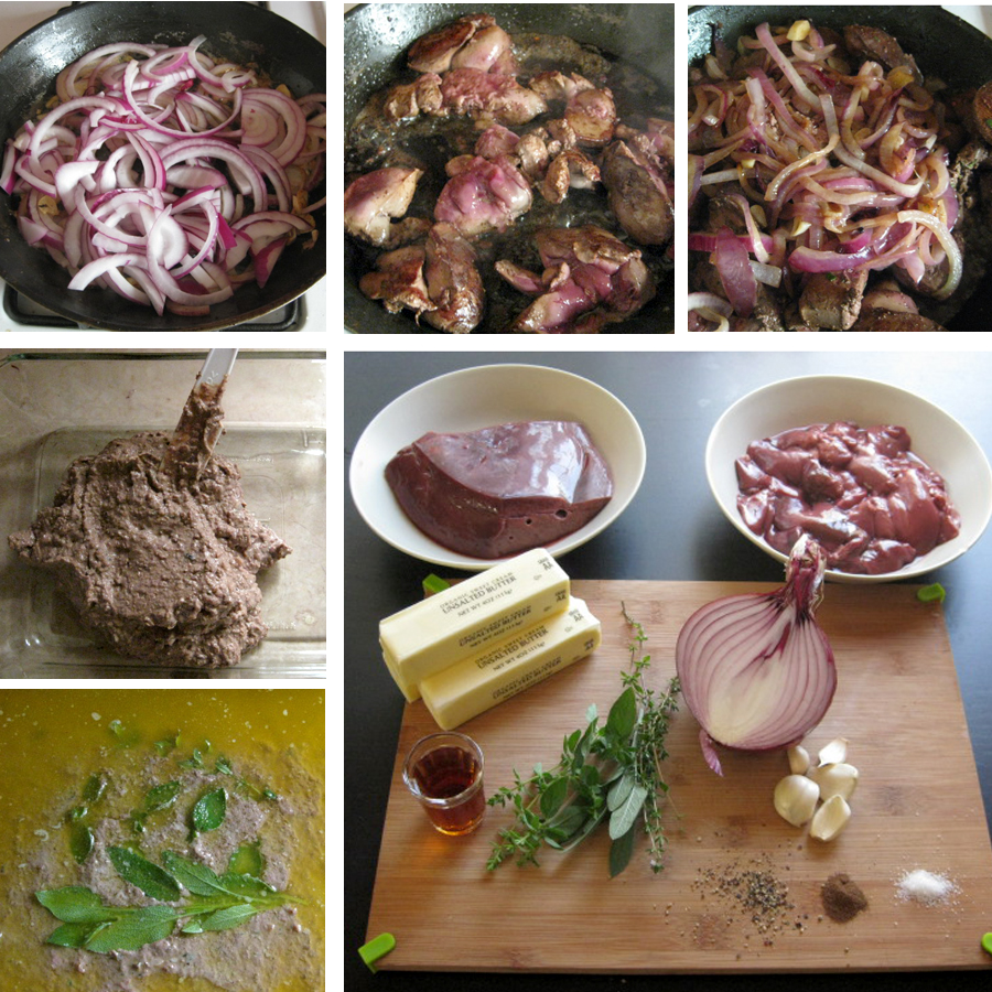 French Pate' Meatloaf and 10 Good Reasons Why To Eat Liver!