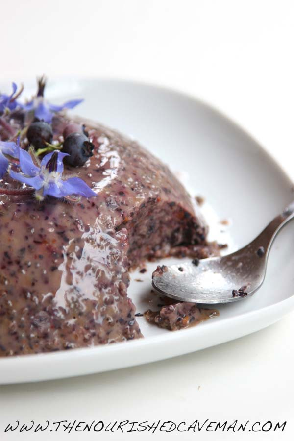 Blueberrry Chia Pudding bt The Nourished Caveman 1