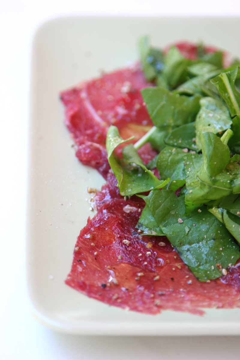 Paleo-talian Carpaccio and the health benefits of eating raw meat.
