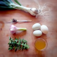 Pickled Duck Eggs with Herbs (sugar-free)