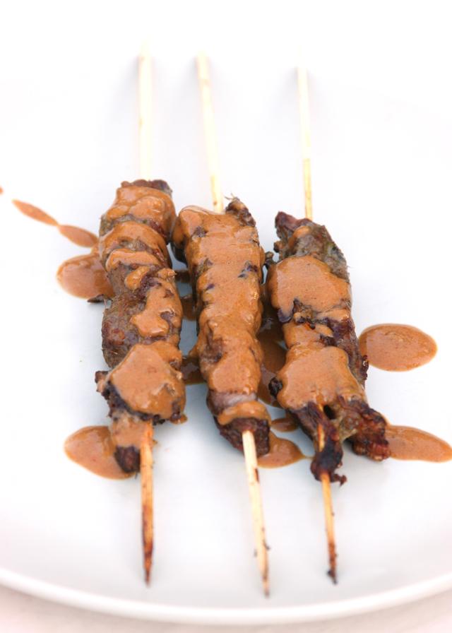 Satay with Sauce