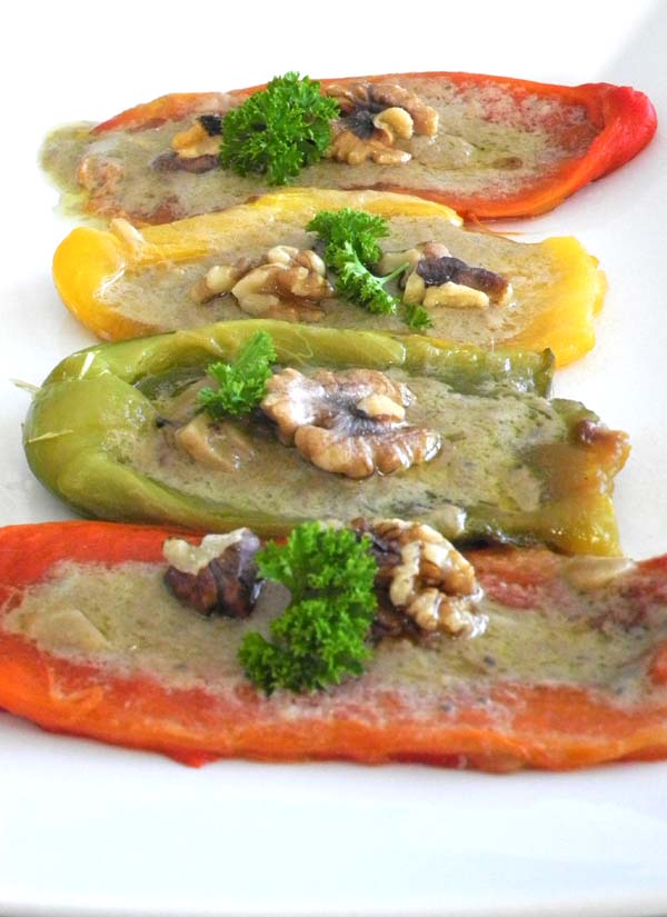 Paleo Stuffed Peppers by The Nourished Caveman closeup