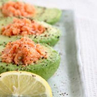 Avocado and Salmon Low Carb Breakfast