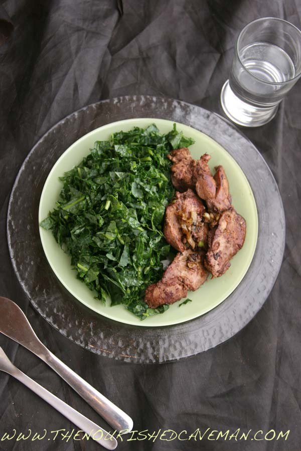 Sauteed Chicken Liver Recipe for Ketogenic Diet Week Meal Plan- Tuesday day 3 - The Nourished ...