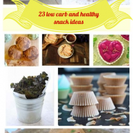 23 Keto and Low Carb Healthy Snack Ideas!