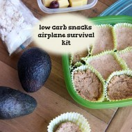Low Carb Snacks Airplane Survival Kit And Coco-nut Candy!