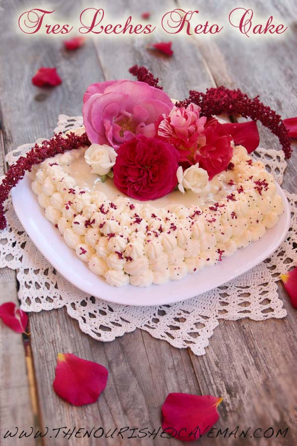 Tres Leches K eto Cake By The Nourished Caveman 3