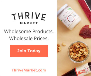 Try Thrive Market Free for a month!