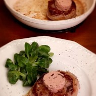 Five Stars In Five Minutes: Keto Filet Mignon Wrapped in Lard Topped With Pate'