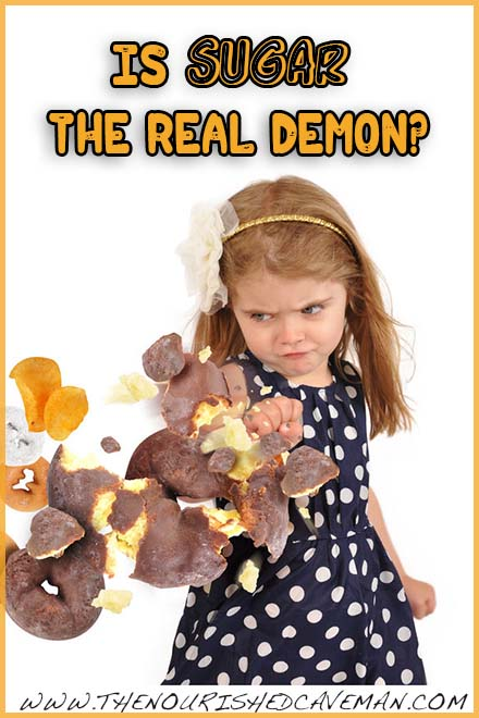 Is Sugar the Real Demon By The Nourished Caveman