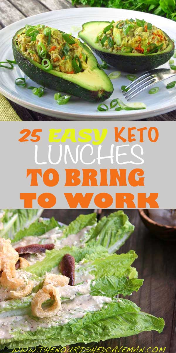 25 Easy Keto Lunches To Bring Work By The Nourished Caveman