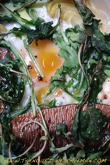 Looking for the perfect breakfast? Try this Keto and low carb Nutrient Dense Fisherman's Eggs!! - Nutrient Dense Fisherman's Eggs By The Nourished Caveman 3