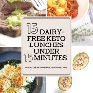 15 Dairy-Free Keto Lunches Under 15 Minutes
