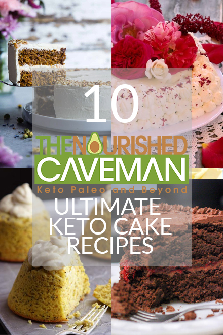 Celebrations are important and we often celebrate with food. In honor of my Birthday week, I am sharing these delicious Keto Paleo Cake recipes